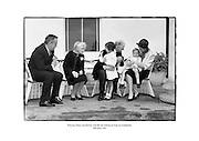 Princess Grace and family visit the de Valeras at Áras an Uachtaráin, Dublin.<br /> <br /> 14/06/1961<br /> <br /> 14th June 1961