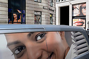 In the week that many more Londoners returned to their office workplaces after the Covid pandemic, the faces of women are seen around a junction in the City of London, the capitals financial district, on 8th September 2021, in London, England.