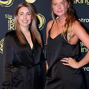 NLD/Amsterdam/20181011 - Televizier Gala 2018, Kiki van Deursen met vriendin