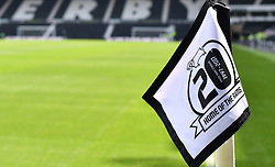 "General view of the stadium before a pre season friendly match at Pride Park, Derby. PRESS ASSOCIATION Photo. Picture date: Saturday July 21, 2018. Photo credit should read: Anthony Devlin/PA Wire. EDITORIAL USE ONLY No use with unauthorised audio, video, data, fixture lists, club/league logos or ""live"" services. Online in-match use limited to 75 images, no video emulation. No use in betting, games or single club/league/player publications."