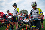 during stage 1 of the 2019 Absa Cape Epic Mountain Bike stage race held from Hermanus High School in Hermanus, South Africa on the 18th March 2019.<br /> <br /> Photo by Greg Beadle/Cape Epic<br /> <br /> PLEASE ENSURE THE APPROPRIATE CREDIT IS GIVEN TO THE PHOTOGRAPHER AND ABSA CAPE EPIC