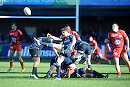 Heineken cup, pool 6 match, Cardiff Blues v Toulon at Cardiff Arms Park in Cardiff, South Wales on Sunday 21st October 2012. pic by Andrew Orchard, Andrew Orchard sports photography,
