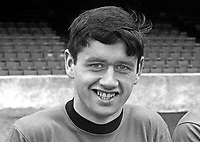Tommy Morrow, footballer, Glentoran FC, Belfast, N Ireland, September, 1967, 196709000110<br /> <br /> Copyright Image from Victor Patterson, 54 Dorchester Park, Belfast, UK, BT9 6RJ<br /> <br /> t: +44 28 9066 1296<br /> m: +44 7802 353836<br /> vm +44 20 8816 7153<br /> <br /> e1: victorpatterson@me.com<br /> e2: victorpatterson@gmail.com<br /> <br /> www.victorpatterson.com<br /> <br /> IMPORTANT: Please see my Terms and Conditions of Use at www.victorpatterson.com