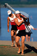 Men's pairs rowing team.