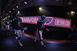 during the NFL game between the Phoenix Cardinals and the Philadelphia Eagles at Lincoln Financial Field in Philadelphia on Sunday October 8th 2017. (Brian Garfinkel/Philadelphia Eagles)