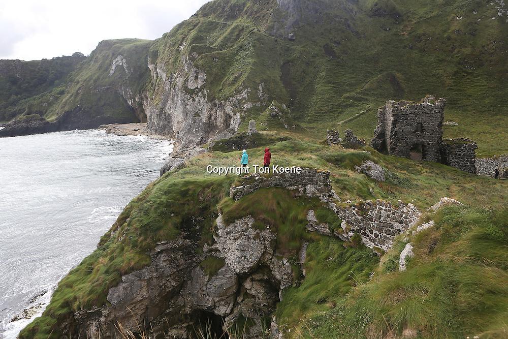 coastline of northern Ireland