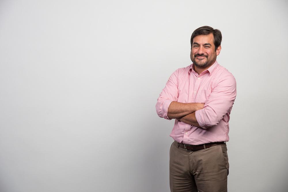 Ben Hernandez poses for photograph, July 21, 2014.