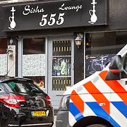 NLD/Amsterdam/20150516 - Oud voetballer Ronald de Boer doet boodschappen,