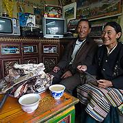 Local Tibetan people.