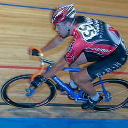 ALKMAAR (NED) wielrennen<br />NK Baanwielrennen ; mannen 2004,; Klassement; Wilco Zuyderwijk