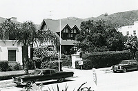 Masquer's Club on Sycamore Ave. in Hollywood 1973
