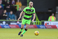 Forest Green Rovers Farrend Rawson(6) during the EFL Sky Bet League 2 match between Forest Green Rovers and Crewe Alexandra at the New Lawn, Forest Green, United Kingdom on 22 December 2018.
