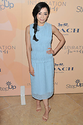 Aimee Garcia arrives at Step Up's 14th Annual Inspiration Awards held athe Beverly Hilton in Beverly Hills, CA on Friday, June 2, 2017. (Photo By Sthanlee B. Mirador) *** Please Use Credit from Credit Field ***
