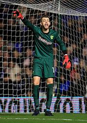 Norwich City goalkeeper Angus Gunn