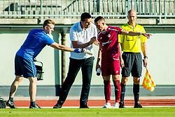 Dejan Doncic, head coach of NK Triglav Kranj during Football match between NK Triglav Kranj and NS Mura in 10th Round of Prva liga Telekom Slovenije 2018/19, on September 27, 2018 in Stadium Stanko Mlakar, Kranj, Slovenia. Photo by Ziga Zupan / Sportida