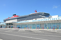 Richard Branson's new cruise ship Scarlet Lady sits forlornly - 20 March 2020