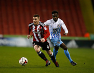 John Fleck of Sheffield Utd  during the English League One match at Bramall Lane Stadium, Sheffield. Picture date: April 5th 2017. Pic credit should read: Simon Bellis/Sportimage
