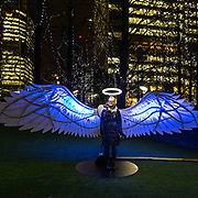 L'annuale edizione del festival delle luci a Canary Wharf, una mostra all'aperto di installazioni luminose. Angel of Freedom di Oge Collective<br /> <br /> The yearly edition of the lights festival in Canary Wharf, an open-air exhibition of light installations. Angel of Freedom by Oge Collective<br /> <br /> #6d, #photooftheday #picoftheday #bestoftheday #instadaily #instagood #follow #followme #nofilter #everydayuk #canon #buenavistaphoto #photojournalism #flaviogilardoni <br /> <br /> #london #uk #greaterlondon #londoncity #centrallondon #cityoflondon #londonuk #visitlondon<br /> <br /> #photo #photography #photooftheday #photos #photographer #photograph #photoofday #streetphoto #photonews #amazingphoto #dailyphoto #funnyphoto #goodphoto #myphoto #photoftheday #photogalleries #photojournalist #photolibrary #photoreportage #pressphoto #stockphoto #todaysphoto #urbanphoto