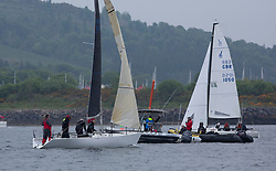 Day 2 Sailing, SCOTLAND<br /> <br /> Class 3, Phoenix, Quarter Tonner, GBR8700R<br /> <br /> The Scottish Series, hosted by the Clyde Cruising Club is an annual series of races for sailing yachts held each spring. Normally held in Loch Fyne the event moved to three Clyde locations due to current restrictions. <br /> <br /> Light winds did not deter the racing taking place at East Patch, Inverkip and off Largs over the bank holiday weekend 28-30 May. <br /> <br /> Image Credit : Marc Turner / CCC