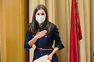 091421 Queen Letizia attends 50th anniversary of the Faculty of Information Sciences