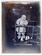 1920s toddler in the box