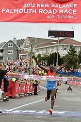 Falmouth Road Race, men's champion Stanley Biwott
