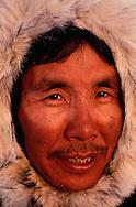 Inuit hunter Leo Mucktar, Pond Inlet, Baffin Island, Nunavut, Canada, Arctic