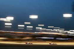 April 7, 2018 - Sakhir, Bahrain - Motorsports: FIA Formula One World Championship 2018, Grand Prix of Bahrain, #8 Romain Grosjean (FRA, Haas F1 Team),  , #20 Kevin Magnussen (DEN, Haas F1 Team) (Credit Image: © Hoch Zwei via ZUMA Wire)