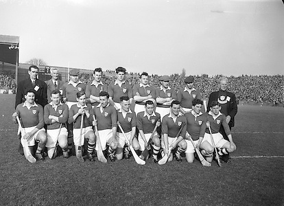 Neg no: A625/1954-1958..17031958IPHCF.17.03.1958...Interprovincial Railway Cup Hurling Championship - Final..Munster.03-07.Leinster.03-05..Munster. ..M. Cashman (Cork), J. Finn (Tipperary), J. Lyons (Cork), J. Barron (Waterford), T. McGarry (Limerick), M. á.Subs: M. Maher (Tipperary) for Finn, T. Cheasty (Waterford) for Moloney. . ..Munster. .L. Power (Cork), J. O'Shea, T. Lyons (Kerry), P. Driscoll, P. Harrington (Cork), T. Cunningham (Waterford), D. Murray (Cork), M. O'Connell (Kerry), S. Moore, N. Fitzgerald (Cork), J. Dowling (Kerry), E. Ryan (Cork), P. Sheehy, M. Murphy (Kerry), D. Kelleher (Cork). .