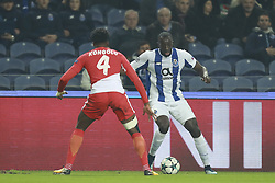 December 6, 2017 - Na - Porto, 06/12/2017 - Football Club of Porto received, this evening, AS Monaco FC in the match of the 6th Match of Group G, Champions League 2017/18, in Estádio do Dragão. Terence Kongolo; Marega  (Credit Image: © Atlantico Press via ZUMA Wire)