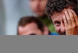 12.07.2017, Sportplatz Buergerau, Saalfelden, AUT, Testspiel, FC Pinzgau vs FC St. Pauli, im Bild Trainer Markus Fuerstaller (FC Pinzgau) // during the Friendly Football Match between FC Pinzgau and FC St. Pauli at the Stadion Buergerau, Saalfelden, Austria on 2017/07/12. EXPA Pictures © 2017, PhotoCredit: EXPA/ JFK