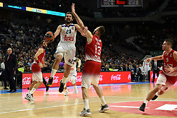 January 27, 2017 - Madrid, Madrid, Spain - Sergio Llul, #23 of Real Madrid in action during the Euroleague basketball match between Real Madrid and EA7 Emporio Armani Milano. (Credit Image: © Jorge Sanz GarcíA/Pacific Press via ZUMA Wire)