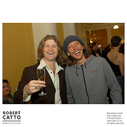 Tom McLeod;Age Pryor at the APRA Silver Scroll Awards 2004 at the Wellington Town Hall, Wellington, New Zealand.<br />