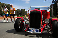 Photograph shows a Batonbearer carrying the Queen's Baton along Anzac Parade in Canberra. From 25 January to 2 March 2018, the Queen's Baton will visit every other state and territory before Queensland. As the Queen's Baton Relay travels the length and breadth of Australia, it will not just pass through, but spend quality time in each community it visits, calling into hundreds of local schools and community celebrations in every state and territory. The Gold Coast 2018 Commonwealth Games (GC2018) Queen's Baton Relay is the longest and most accessible in history, travelling through the Commonwealth for 388 days and 230,000 kilometres. After spending 100 days being carried by approximately 3,800 batonbearers in Australia, the Queen's Baton journey will finish at the GC2018 Opening Ceremony on the Gold Coast on 4 April 2018.