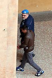 ARRIVO IN AULA DI PATRIK RUSZO<br /> UDIENZA PROCESSO OMICIDO TARTARI BOLOGNA