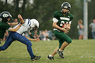 Otisville, NY - Middletown plays Minisink Valley in a Division 4 Orange County Youth Football League game at  on Sept. 14, 2008.