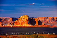 Wahweap Marina, Wahweap Bay, Lake Powell, Arizona USA