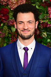 Jamael Westman attending the Evening Standard Theatre Awards 2018 at the Theatre Royal, Drury Lane in Covent Garden, London