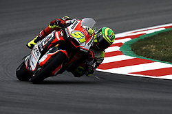 June 15, 2018 - Barcelona, Catalonia, Spain - Eric Granado (51) of Brazil and Forward Racing Team Suter during the free practice of the Gran Premi Monster Energy de Catalunya, Circuit of Catalunya, Montmelo, Spain.On 15 june of 2018. (Credit Image: © Jose Breton/NurPhoto via ZUMA Press)