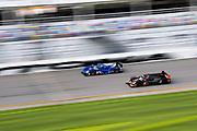 January 5-7, 2018. IMSA Weathertech Series ROAR before 24 test. 7 Acura Team Penske, Acura DPi,Helio Castroneves, Graham Rahal, Ricky Taylor, 90 Spirit of Daytona Racing, Cadillac DPi, Tristan Vautier, Matthew McMurry