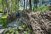 LandArt-Grindelwald.ch  exhibit 2015-16 at Grindelwald, Switzerland, Europe.