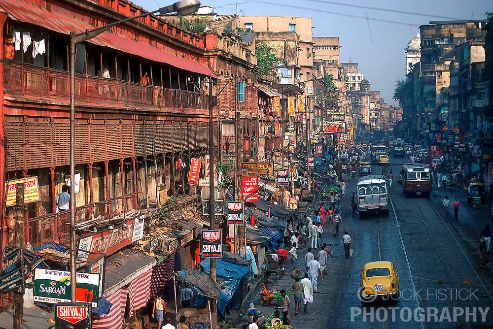 CALCUTTA, INDIA - Street scene in Calcutta, India. (Photo © Jock Fistick)