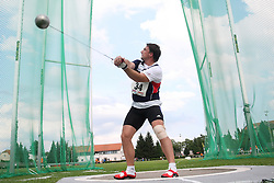 Primoz Kozmus at Athletic National Championship of Slovenia, on July 19, 2008, in Stadium Poljane, Maribor, Slovenia. (Photo by Vid Ponikvar / Sportal Images).