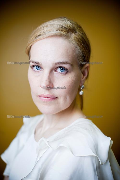 Oslo, Norge, 24.06.2011. Ida Berntsen i Cappelen Damm snakker om karikaturer og Muhammed striden. Foto: Christopher Olssøn.