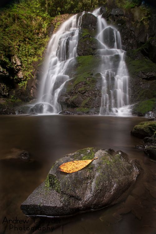 Spruce Flats Falls - Great Smoky Mountains, Tennessee