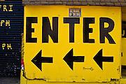 Weathered store front, Newark, NJ 2008