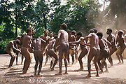 villagers performing traditional dance at Yakel Custom Village, Tanna Island, Vanuatu, formerly known as New Hebrides, South Pacific