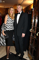 Model JERRY HALL and AUSTIN EARL at the 2004 Whitbread Book Awards held at The Brewery, Chiswell Street, London EC1 on 25th January 2005.<br /><br /><br />NON EXCLUSIVE - WORLD RIGHTS