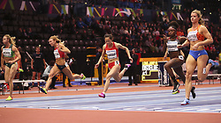 2018?3?2?.     ?????1???——????????60?????.        3?2??????????????????.        ????????????2018???????????60?????????7?24????????????????.        ???????? .(SP) BRITAIN-BIRMINGHAM-TRACK AND FIELD-IAAF WORLD INDOOR CHAMPIONSHIPS DAY 2.(180302) -- LONDON, Mar. 2, 2018  Xiaojing Liang (3rd L) of China competes in the women's 60 metres round 1 match during the IAAF World Indoor Championships at Arena Birmingham in Birmingham, Britain on Mar. 2, 2018. (Credit Image: © Han Yan/Xinhua via ZUMA Wire)