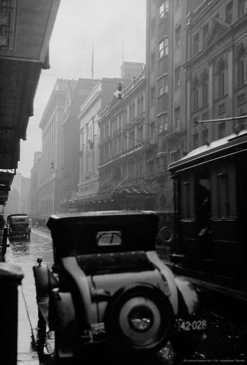 Castlereagh Street, Sydney, Australia, 1930